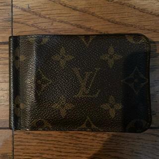 LOUIS VUITTON - 希少 正規 ルイ ヴィトン モノグラム マネークリップ カードケース 財布