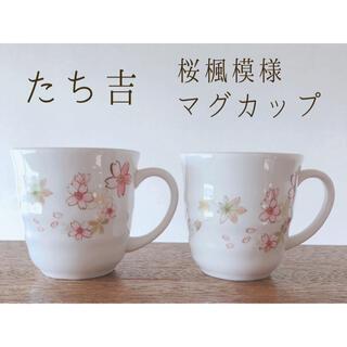 タチキチ(たち吉)の食器 たち吉 マグカップ 桜楓(グラス/カップ)