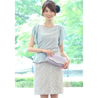 URBAN RESEARCH ROSSO - Kaene ◆ ジャガードドッキングワンピース ◆ 日本製