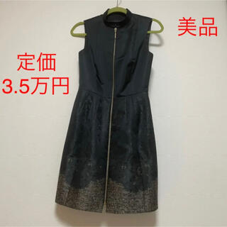 TOMORROWLAND - 定価3万円 美品 TEDBAKER ワンピース ドレス