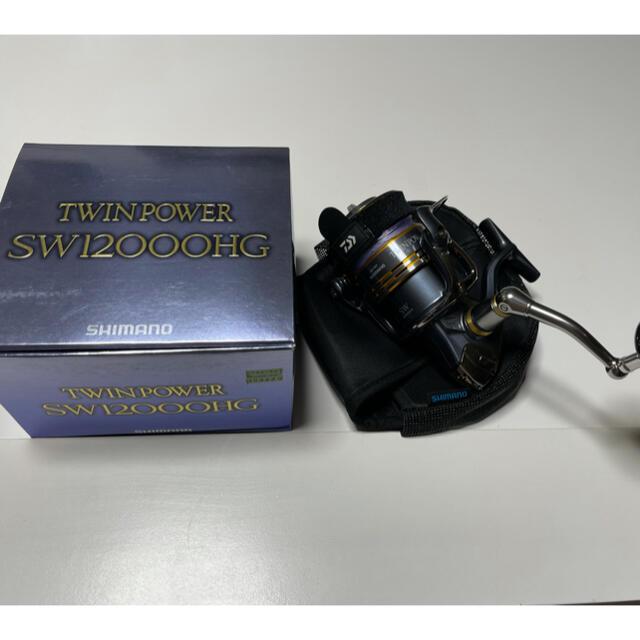 SHIMANO(シマノ)のリール SHIMANO TWINPOWER SW12000HG スポーツ/アウトドアのフィッシング(リール)の商品写真
