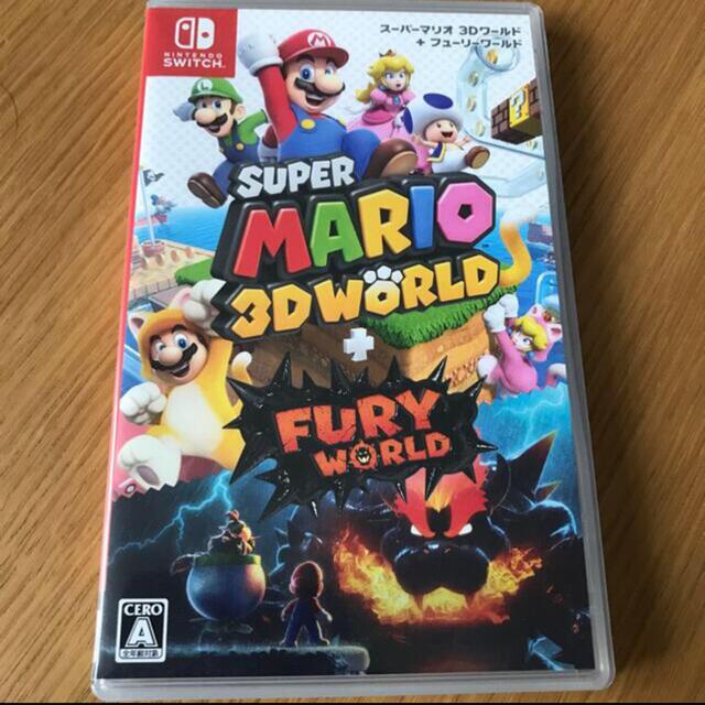 Nintendo Switch(ニンテンドースイッチ)の美品☆スーパーマリオ 3Dワールド + フューリーワールド Switch エンタメ/ホビーのゲームソフト/ゲーム機本体(家庭用ゲームソフト)の商品写真