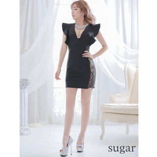エンジェルアール(AngelR)のワイドフリルスリーブレースデザインドレス(その他ドレス)