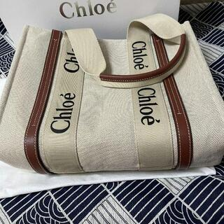 Chloe - Chloeクロエwoodyミディアムトートバッグ