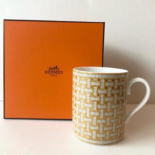 Hermes - エルメス HERMES モザイク24 ゴールドマグカップ コップ 食器