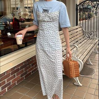 snidel - floral cami dress ♡ miro amurette