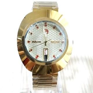 ラドー(RADO)のラドー ダイヤスター 赤石 カットガラス OH/新品仕上げ済 (腕時計(アナログ))