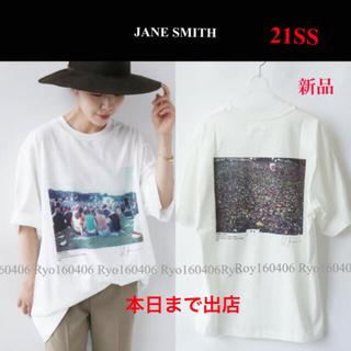 Plage - 21SS⭐️新品★JANE SMITH ジェーンスミス/フォトTシャツ/ホワイト