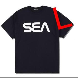 SEA - WIND AND SEA (SPC) T-SHIRT L Tシャツ 黒 新品