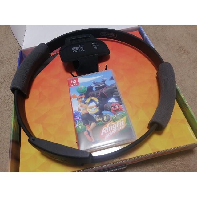 任天堂(ニンテンドウ)のリングフィット アドベンチャー Switch エンタメ/ホビーのゲームソフト/ゲーム機本体(家庭用ゲームソフト)の商品写真
