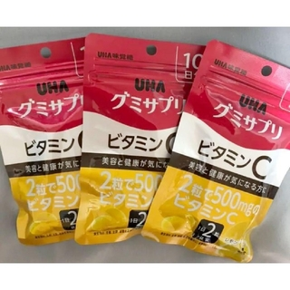 ユーハミカクトウ(UHA味覚糖)のUHA味覚糖 UHA味覚糖グミサプリ 10日分 3袋(ビタミン)