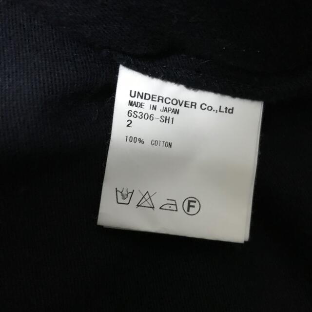 UNDERCOVER(アンダーカバー)のパッチワーク ミリターシャツT期 06ss メンズのトップス(シャツ)の商品写真