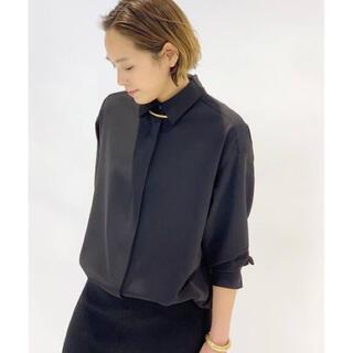 L'Appartement DEUXIEME CLASSE - AP STUDIO ツイルシャツ ブラック