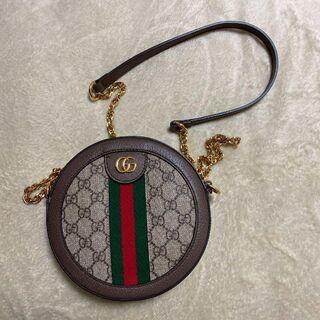 Gucci - GUCCI オフィディア GGミニラウンド ショルダーバッグ