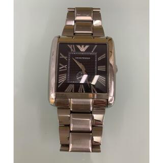 エンポリオアルマーニ(Emporio Armani)のエンポリオアルマーニ腕時計/メンズ/AR1642/ブラックダイアル(腕時計(アナログ))