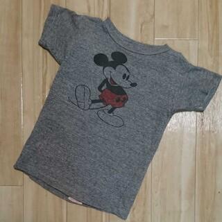 デニムダンガリー(DENIM DUNGAREE)のデニムダンガリー☆ミッキーTシャツ  120センチ(Tシャツ/カットソー)