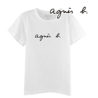 アニエスベー(agnes b.)の⭐️アニエスベー 半袖Tシャツ ホワイト Mサイズ⭐️(Tシャツ(半袖/袖なし))