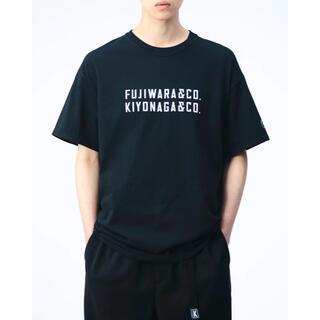 フラグメント(FRAGMENT)のFUJIWARA&CO. FRONT DOUBLE LOGO TEE XLサイズ(Tシャツ/カットソー(半袖/袖なし))