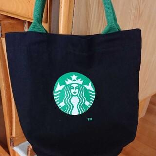 Starbucks Coffee - スターバックストートバッグ 黒