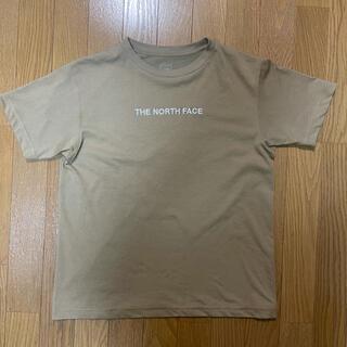 THE NORTH FACE - ノースフェイス 刺繍ロゴ tシャツ