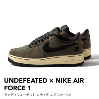 NIKE - UNDEFEATED × NIKE AIR FORCE 1