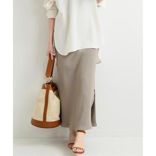 IENA - IENA テレコリブスカート 2020SS リブ ロングスカート