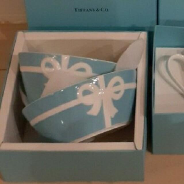 Tiffany & Co.(ティファニー)のTIFFANY ボウル ar様専用 インテリア/住まい/日用品のキッチン/食器(グラス/カップ)の商品写真