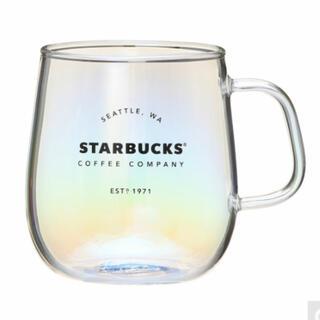 Starbucks Coffee - スターバックス オーロラ 耐熱グラス マグカップ