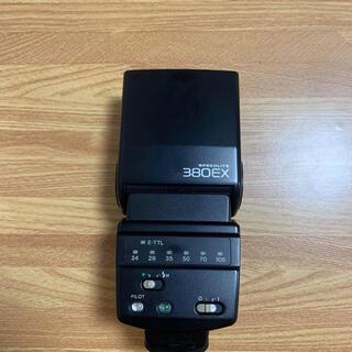 Canon - 送料無キヤノン純正 ◆ 外部ストロボ 380EX ◆ Canon 複数サイト出品