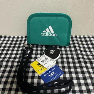 アディダス(adidas)の新品★アディダス折り財布【グリーン】adidas(折り財布)