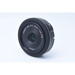 キヤノン(Canon)の★美品★ Canon EF-S 24mm 1:2.8 STM(レンズ(単焦点))