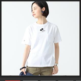 ビームスボーイ(BEAMS BOY)のビームスボーイ チャンピオン 別注 Tシャツ beams boy ミッキー(Tシャツ(半袖/袖なし))