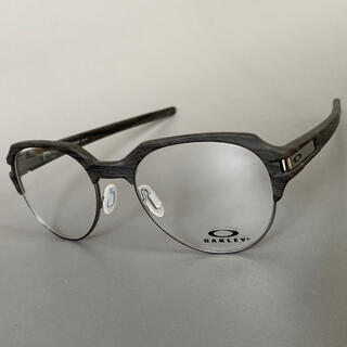 Oakley - ステージビーム ウッドグレイン オークリー セミリム メガネ 眼鏡 高性能
