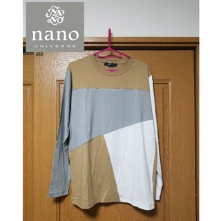 ナノユニバース(nano・universe)の【新品】nano universe ナノユニバース クレイジー Tシャツ ロンT(Tシャツ/カットソー(七分/長袖))