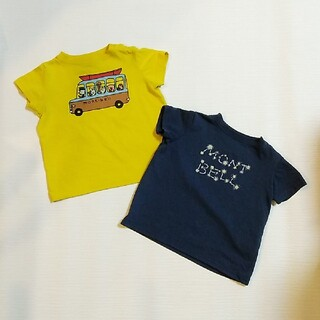 mont bell - 【mont-bell】80センチ  Tシャツ 2枚セット