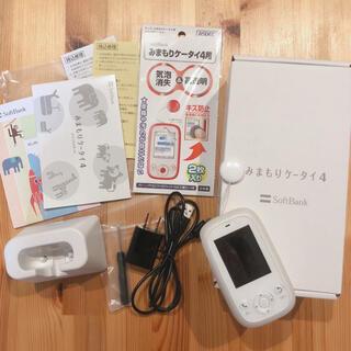 ソフトバンク(Softbank)のソフトバンク みまもりケータイ4(携帯電話本体)