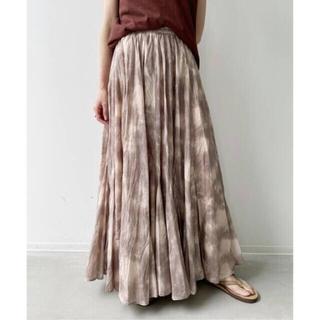アパルトモンドゥーズィエムクラス(L'Appartement DEUXIEME CLASSE)の新品タグ付 アパルトモン MARIHA マリハ Gather Skirt(ロングスカート)