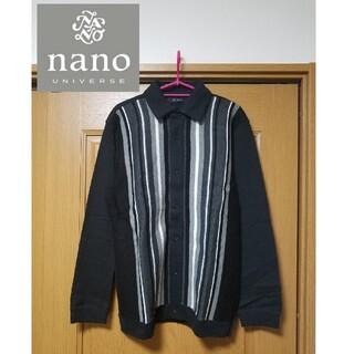 ナノユニバース(nano・universe)の【新品】nano universe ナノユニバース ニット セーター シャツ(ニット/セーター)
