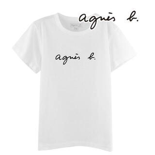 agnes b. - ⭐️アニエスベー 半袖Tシャツ ホワイト Mサイズ⭐️