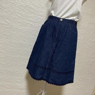 エル(ELLE)のELLE PETITE デニムスカート 160(スカート)