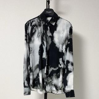 Saint Laurent - 【新品未使用】SAINT LAURENT サンローラン シルクシャツ