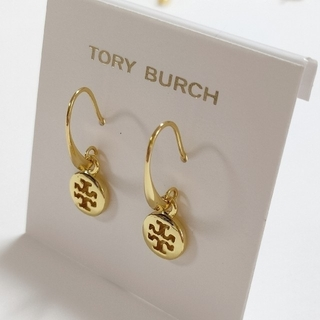 Tory Burch - 未使用品 トリーバーチ ロゴピアス ラウンドチャーム
