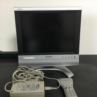 アクオス(AQUOS)の液晶カラーテレビ LC-13S4-S(テレビ)