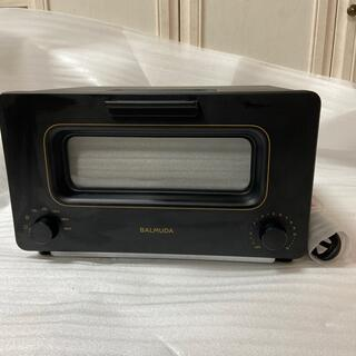 BALMUDA - BALMUDA バルミューダ トースター ブラック 新品未使用 k01E