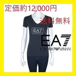 エンポリオアルマーニ(Emporio Armani)の定価約12,000円 EA7 エンポリオ アルマーニ ロゴ Tシャツ カットソー(Tシャツ(半袖/袖なし))