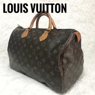 LOUIS VUITTON - 【正規品】ルイヴィトン モノグラム スピーディ35 ボストン