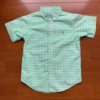 Ralph Lauren - ラルフローレン 半袖 チェックシャツ 120cm フォーマル