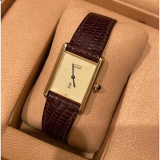 Cartier - 全て純正 Vintage手巻き カルティエ マストタンク