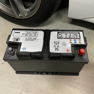 ビーエムダブリュー(BMW)の★ F30適合 BMW純正バッテリー 90Ah AGM (車種別パーツ)