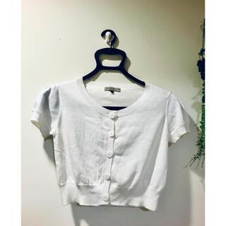 PROPORTION BODY DRESSING - ♡プロポーションボディドレッシング 半袖ボレロ